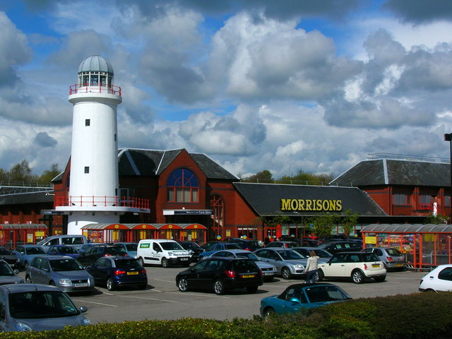 Supermarket with lighthouse!