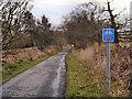 NS4789 : Old Gartmore Road/Rob Roy Way by David Dixon