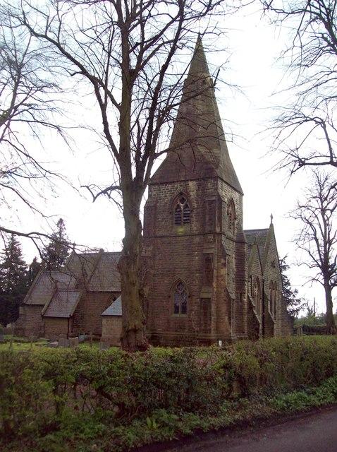 Holy Trinity Church in Brackenfield