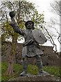 NS7993 : The Statue of Rob Roy MacGregor by David Dixon