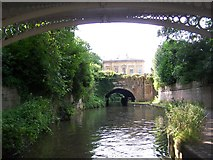 ST7565 : Kennet and Avon Canal passing through Sydney Gardens, Bath by David Martin