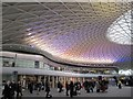 TQ3083 : The new entrance hall of Kings Cross Station (3) by Mike Quinn