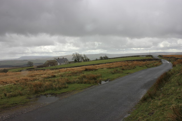 Merrybent Farm and cattle grid