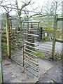 SE0819 : Bridleway rotary gate, Carr Hall Lane, Stainland by Humphrey Bolton