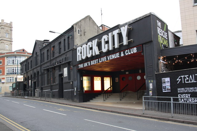 Rock City music venue and club, Talbot Street