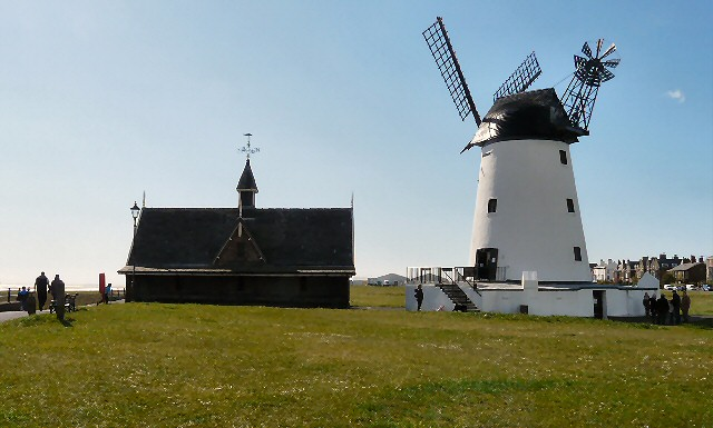 Lytham Green, Windmill and Old Lifeboat House