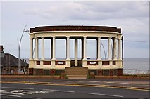 NZ3766 : Bandstand at Gypsies Green by Steve Daniels