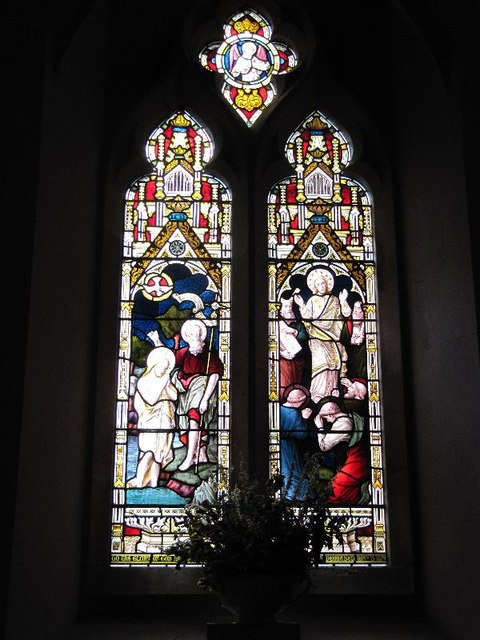 Holy Trinity Window 3