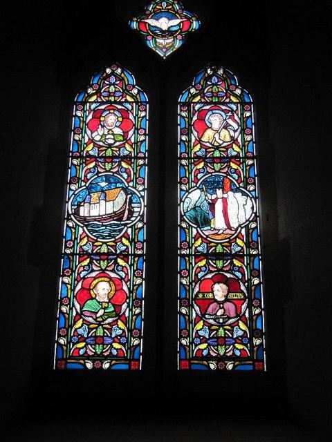 Holy Trinity Window 4