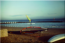 NJ9505 : Windsurfing at Fittie by Colin Smith