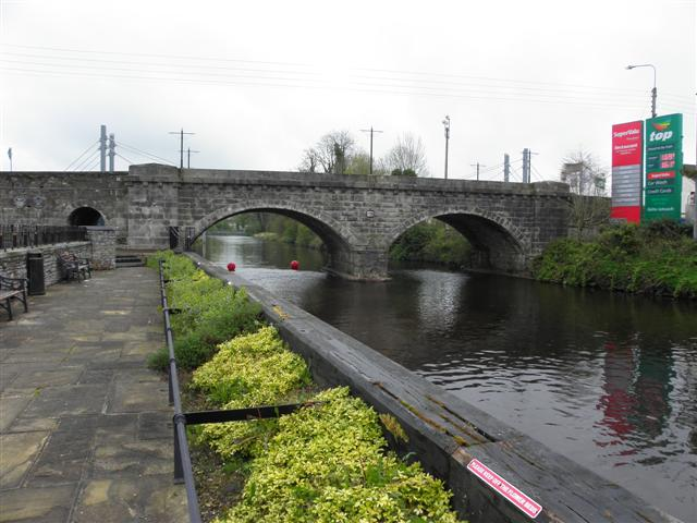 Bridge across the Woodford canal