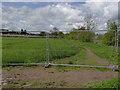 SK4936 : Closed footpath by Alan Murray-Rust