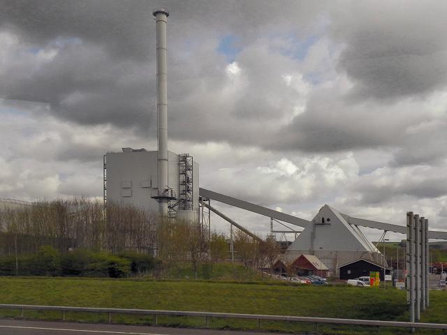 Steven's Croft Biomass Power Station