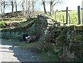 SE0321 : Well on Clapgate Lane, Soyland by Humphrey Bolton