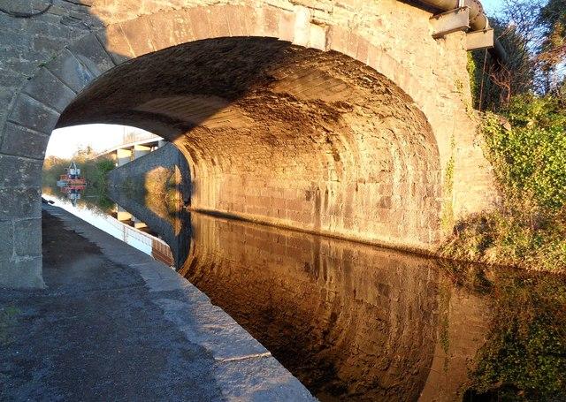 Reflections at Louisa Bridge, Leixlip