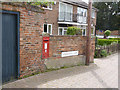 SK5236 : West End postbox (ref. NG9 618) by Alan Murray-Rust
