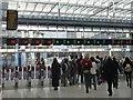 TQ3280 : Exit gates at London Bridge Station by Robin Drayton
