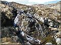 NM3998 : Allt Slugan a'Choilich Waterfall by Anne Burgess