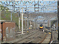 SP9512 : A Train enters Tring Railway Cutting at Tring Station by Chris Reynolds