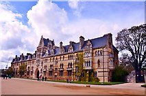 SP5105 : Oxford University: The Meadow Building, Christ Church by Mr Eugene Birchall