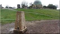 NT2674 : Calton Hill triangulation pillar by Richard Webb