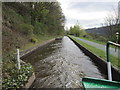 SJ2342 : A passing place on the Llangollen canal by Ian S