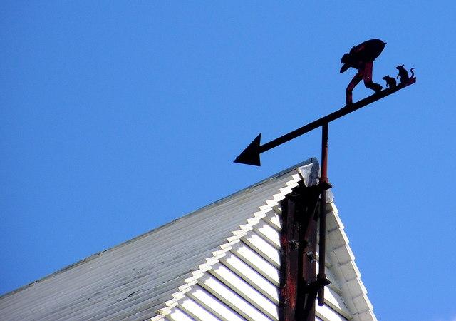 Oldland Windmill Weather Vane