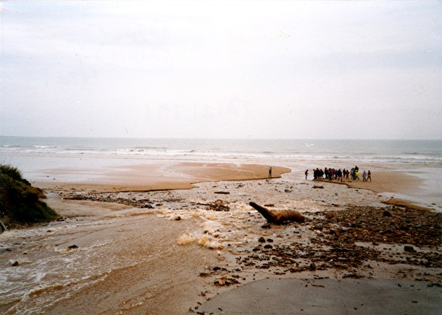 The beach at Mile Haven