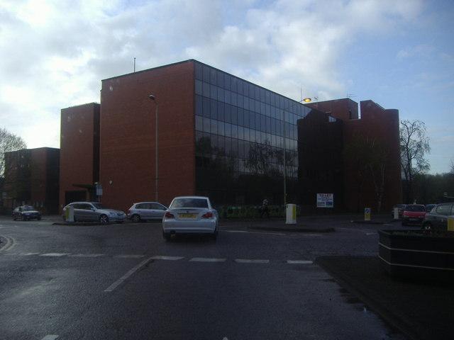 Office block on The Causeway, Bishops Stortford