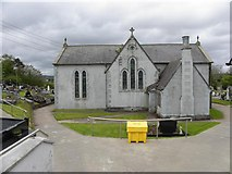 H2694 : St Mary's old Church, Castlefinn (1878    - 1978) by Kenneth  Allen
