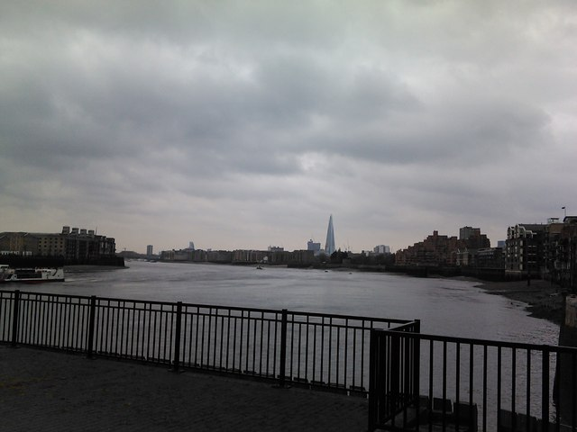 View of the Shard from the Limehouse Basin