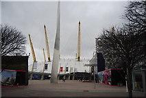 TQ3979 : Pinnacle and O2 Arena by N Chadwick