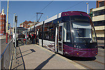 SD3036 : Blackpool tram at North Pier by Stephen McKay