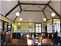 TQ8833 : Inside bus Station café at Tenterden Station by Oast House Archive