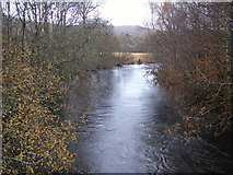 NM8162 : Strontian River from Church Bridge by Peter Bond