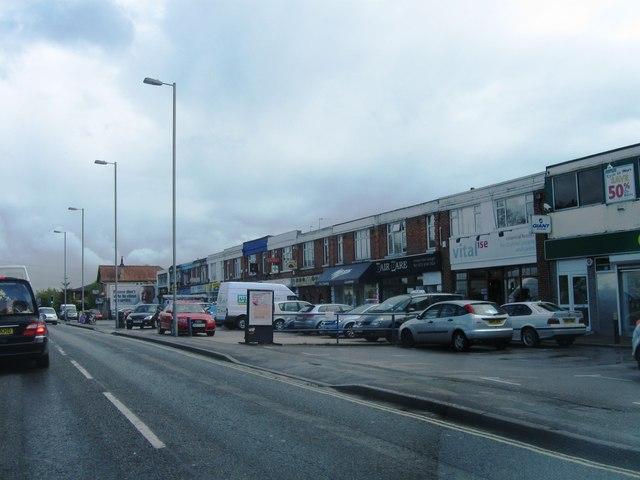 Shops, Thornhill Park