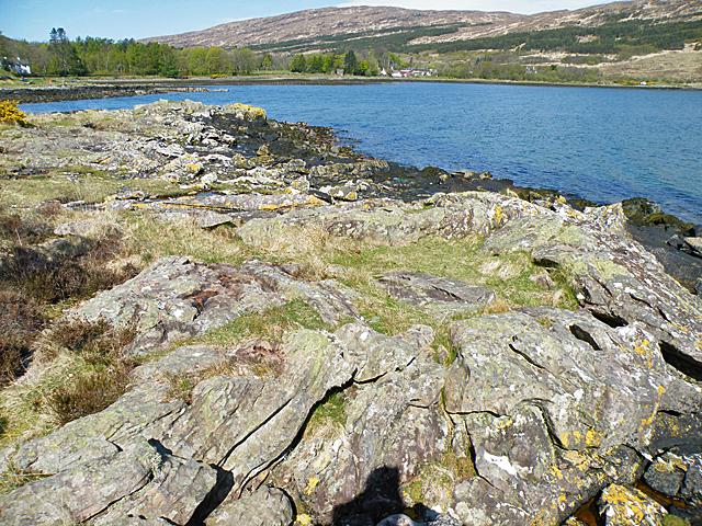Slump Fold in Torridonian Sandstone