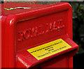 J4079 : Letter box, Holywood (1-2) by Albert Bridge