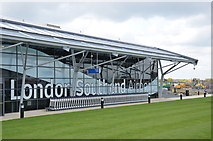 TQ8789 : Southend Airport terminal. by william