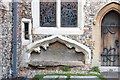 TL1307 : St Michael, St Albans - Recessed tomb by John Salmon
