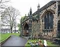 SE3694 : All Saints, Northallerton - Porch by John Salmon