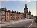 NS3880 : Argyll Motor Works, North Main Street by David Dixon