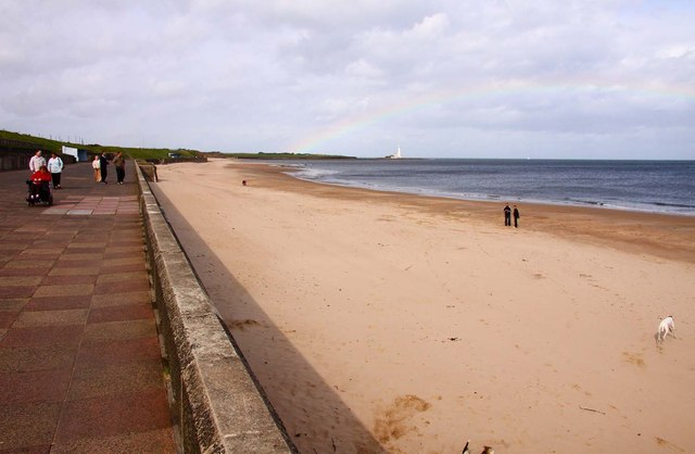 Whitley Sands from the Northern Promenade