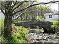 SD1885 : Bridge over Black Beck Hallthwaites by Perry Dark