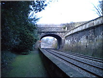ST7565 : Bridge carrying Beckford Road over the railway by Richard Vince