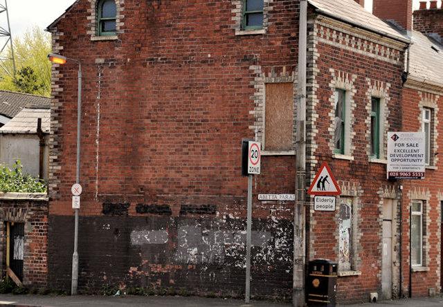 Vacant terrace house, Belfast
