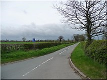 SK1515 : Overley Lane by Christine Johnstone