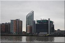 TQ3880 : Riverside development by N Chadwick