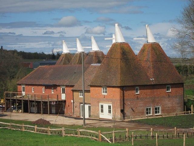 Finchcocks Farm Oast, Goudhurst, Kent