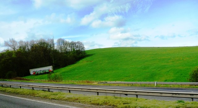 The Gladings Hillside by the M6